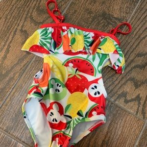 Disney toddler girls  Mickey swimsuit - sz 2T